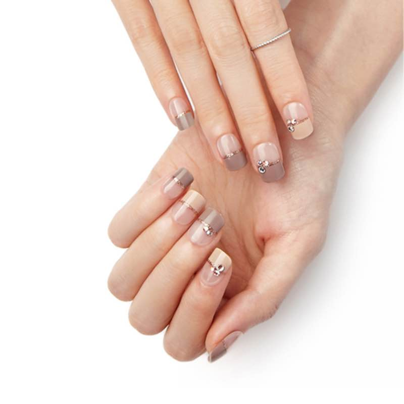DASHING DIVA Magic Press Mani Cafe Latte II MDR271