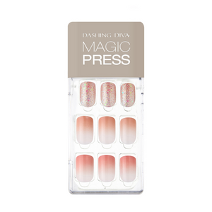 DASHING DIVA Magic Press Mani Coral Ending MDR626 (SOFT SHINE)