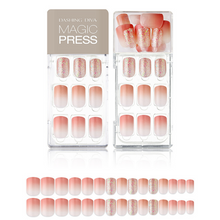 Load image into Gallery viewer, DASHING DIVA Magic Press Mani Coral Ending MDR626 (SOFT SHINE)