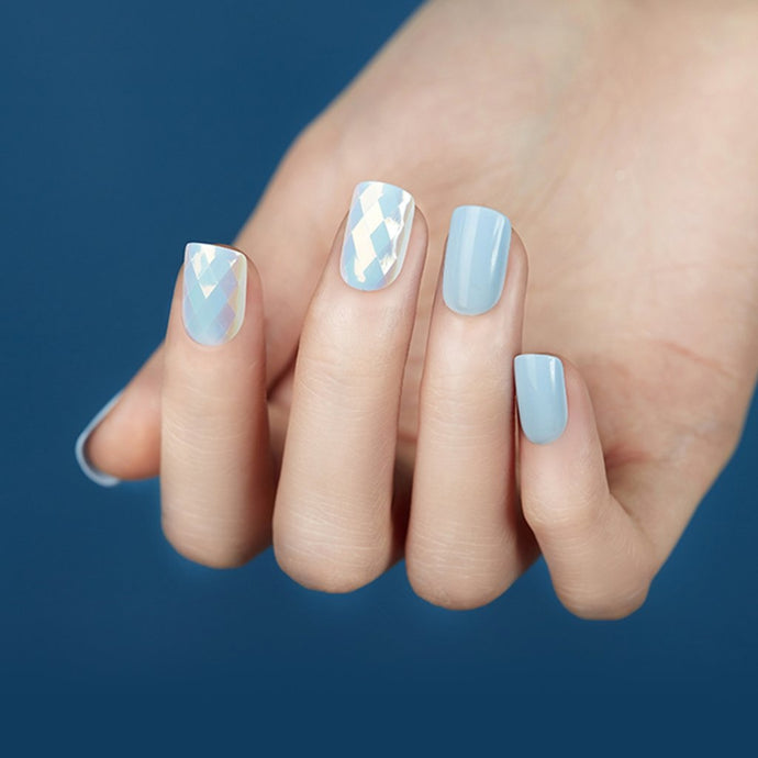Dashing Diva Magic Press Mani Diamond White MDR141