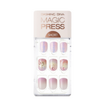Load image into Gallery viewer, DASHING DIVA Magic Press Mani Short Romantic Maze MDR591SS (SOFT SHINE)
