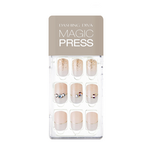 Load image into Gallery viewer, DASHING DIVA Magic Press Mani Snow White MDR607 (SOFT SHINE)