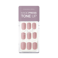 Load image into Gallery viewer, Dashing Diva Magic Press Tone Up Mani Calming Pink MDR466