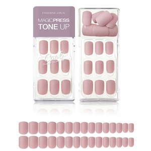 Dashing Diva Magic Press Tone Up Mani Calming Pink MDR466