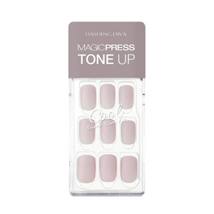 DASHING DIVA Magic Press Tone Up Mani Porcelain MDR468