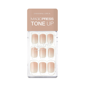 Dashing Diva Magic Press Tone Up Mani Radiant Sand MDR475