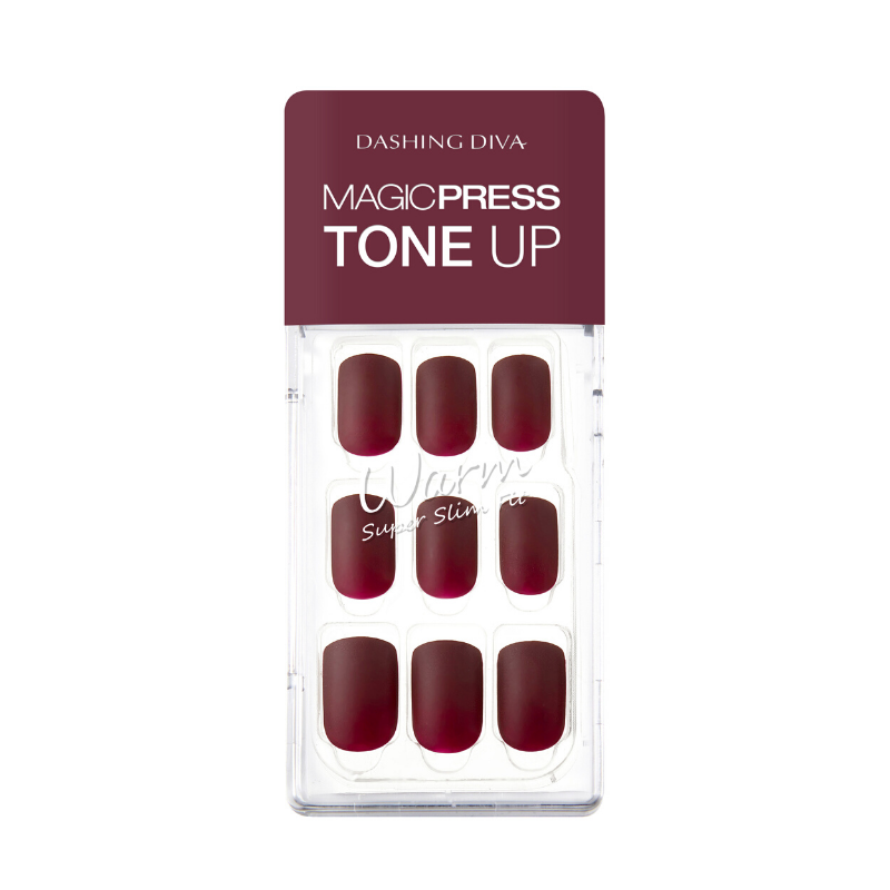 DASHING DIVA Magic Press Tone Up Mani Rose Wood MDR482