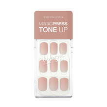 Load image into Gallery viewer, DASHING DIVA Magic Press Tone Up Mani Satin Nude MDR476