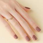 Load image into Gallery viewer, DASHING DIVA Magic Press Tone Up Mani Short Sepia Brown MDR519SS