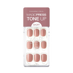 Load image into Gallery viewer, DASHING DIVA Magic Press Tone Up Mani Short Tan Brown MDR518SS
