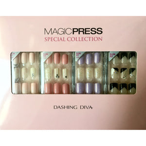 [BEST BUY] DASHING DIVA Magic Press Special Collection Mani Kit SLIM FIT MPS1860