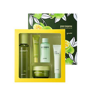 [BEST BUY] GOODAL Green Tangerine Honey Moist Skin Care Set