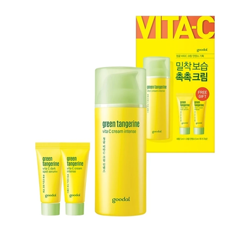 GOODAL Green Tangerine Vita C Cream Intense Set (20AD) [EXP: 05/2023]