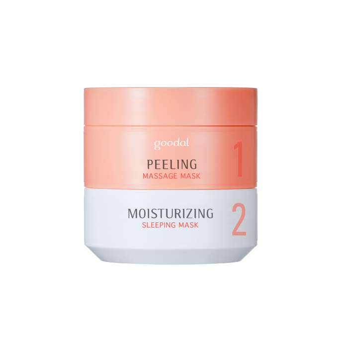 GOODAL Moist Synergy Mask Duo [Peeling X Moisturizing]