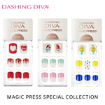 Load image into Gallery viewer, DASHING DIVA Magic Press Follow Me Series Short Mani Kit MPS1910