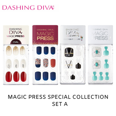 [BEST BUY] Dashing Diva Magic Press Special Collection Mani Kit A