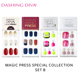 [BEST BUY] Dashing Diva Magic Press Special Collection Mani Kit B