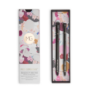 MISS GORGEOUS Eye Concealer Brush Set (2EA) Black