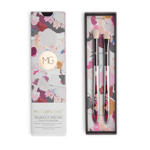 MISS GORGEOUS Eye Shadow Brush Set (2EA) Print