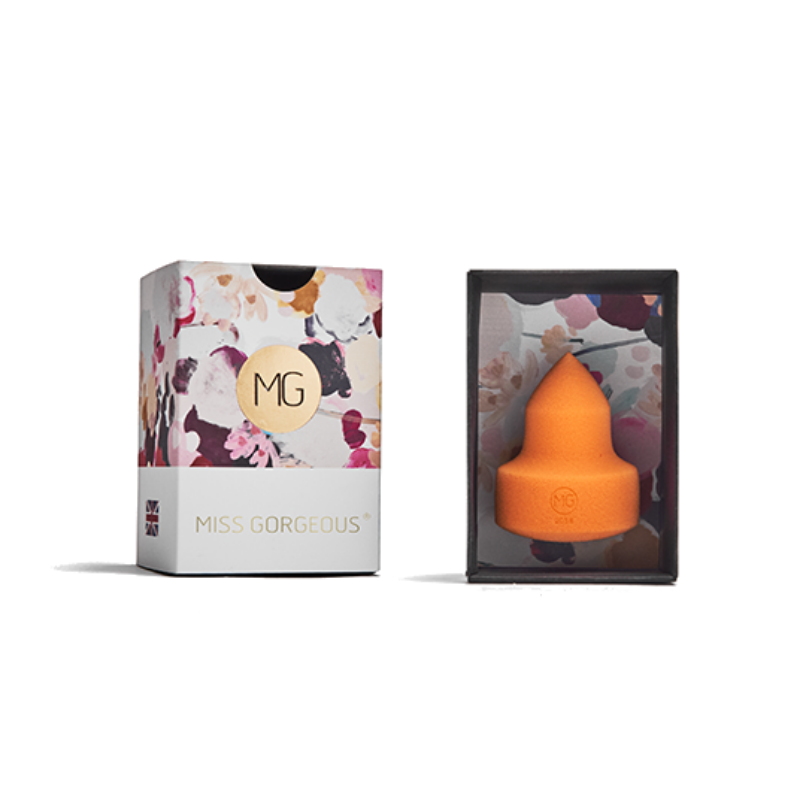 MISS GORGEOUS Tapered Makeup Sponge Orange