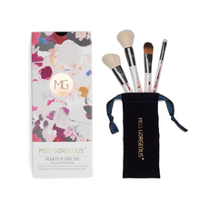 Load image into Gallery viewer, MISS GORGEOUS Beauty Brush Set (4EA) Print