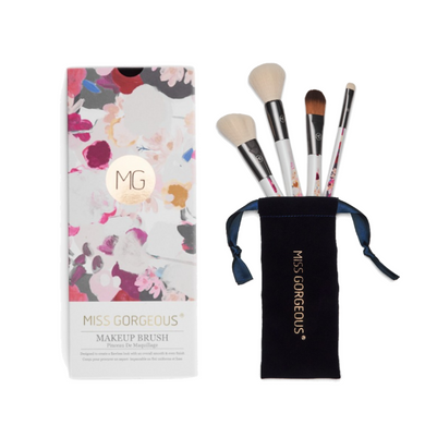 MISS GORGEOUS Beauty Brush Set (4EA) Print