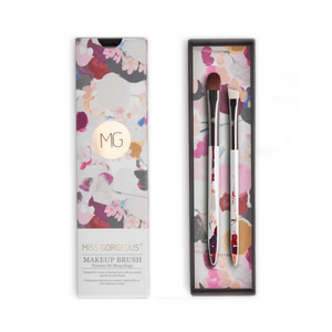 MISS GORGEOUS Eye Concealer Brush Set (2EA) Print