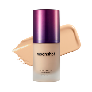 MOONSHOT Micro Correctfit Foundation SPF50+ PA+++ [EXP: 11/2022] [3 Shades to Choose]