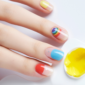 NELO Nail Palatte N05 Rainbow Shower