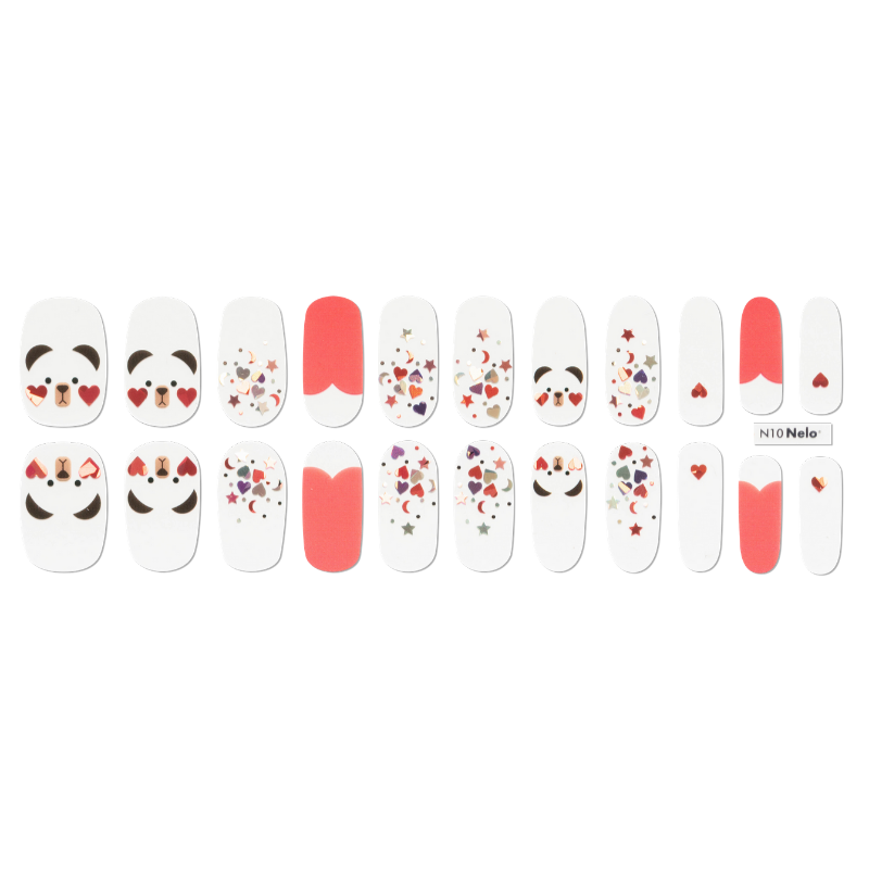 [BEST BUY] NELO Nail Palatte N10 Hello Teddy Bear
