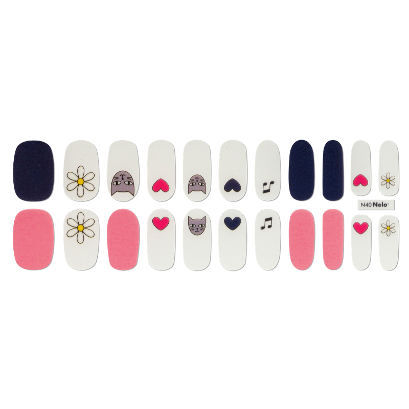 [BEST BUY] NELO Nail Palette N40 Kitsch Candy