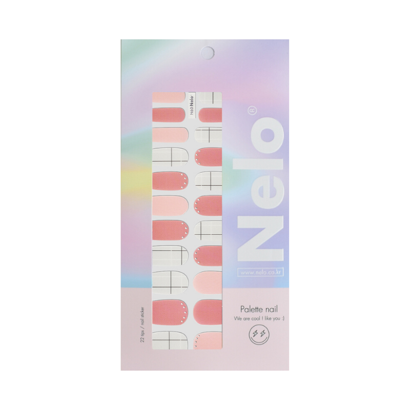 [BEST BUY] NELO Nail Palette N60 Peach Whipcream