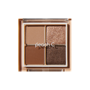 PEACH C Falling In Eyeshadow Palette 8G #01 Falling in Brown [EXP: 10/2022]
