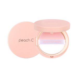PEACH C Honey Glow Cover Cushion 15G [3 Shades to Choose]