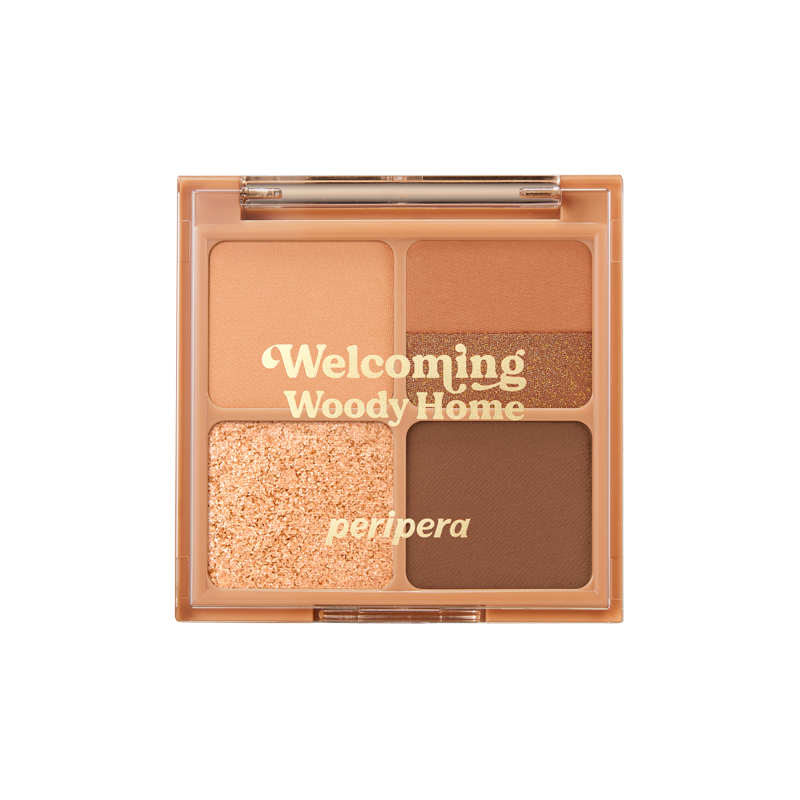 PERIPERA Ink Pocket Shadow Palette 06 Welcoming Woody Home [EXP: 09/2023]