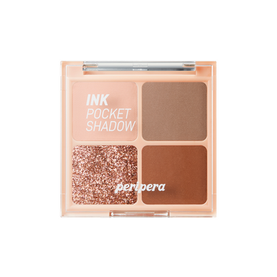 PERIPERA Ink Pocket Shadow Palette #03 Brown Filter 360
