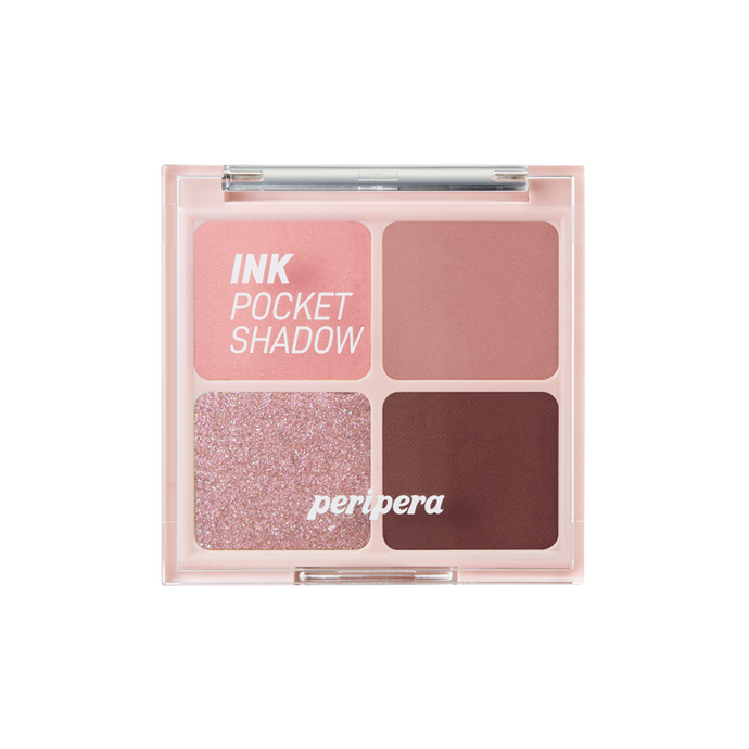 PERIPERA Ink Pocket Shadow Palette (AD) #04 Dipping Rose Moment