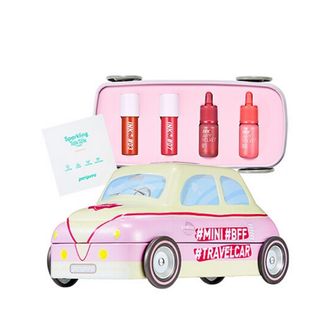 PERIPERA MINI TRAVEL CAR (CORAL)