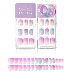 DASHING DIVA Magic Press Mani Pink Aurora MDR426