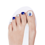 Load image into Gallery viewer, [BEST BUY] DASHING DIVA Magic Gel Strip Pedi Blue Anchor GPS14