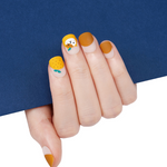 Load image into Gallery viewer, DASHING DIVA Magic Press Short Mani Orange Meow MDR225SS