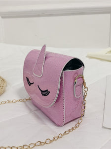 Girls Unicorn Design Chain Bag