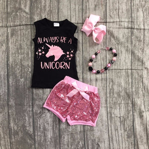 Always Be a Unicorn Set with Accessories