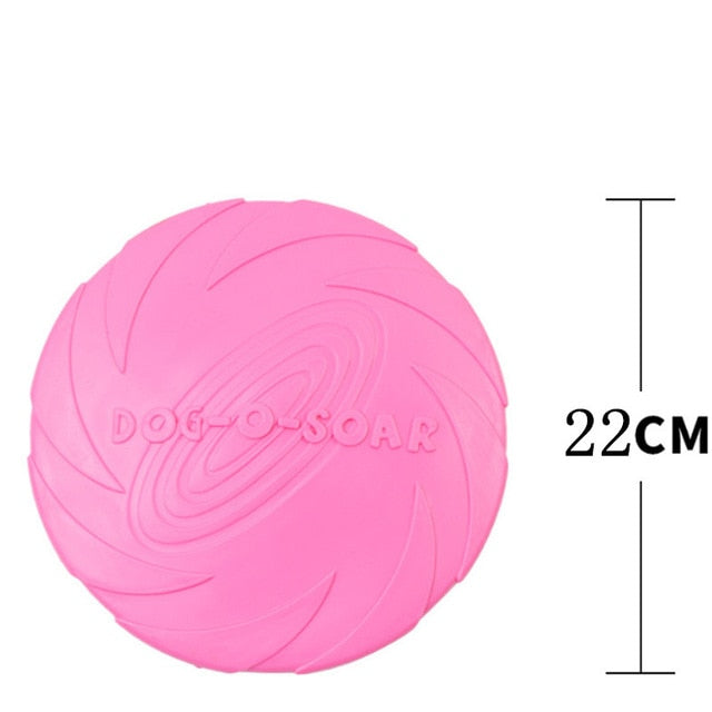 Durable Rubber Flying Disc / Frisbee