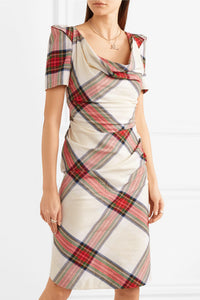 Vivienne Westwood Federal Tartan Virginia Dress