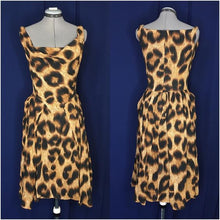 Load image into Gallery viewer, Vivienne Westwood Anglomania Monroe Twist Dress in Leopard