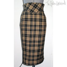 Load image into Gallery viewer, Vivienne Westwood Vintage AW 1997-98 Five Centuries Ago Couture Gold Label MacStone Pencil Corset High Waisted Skirt