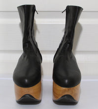 Load image into Gallery viewer, Vivienne Westwood Gold Label Rocking Horse Shoes Boots Black Kid Leather