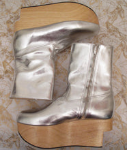 Load image into Gallery viewer, Vivienne Westwood Gold Label Rocking Horse Shoes Boots Silver