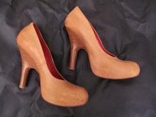 Load image into Gallery viewer, Vivienne Westwood Accessories Label Powerstation Natural Leather Courts Heels